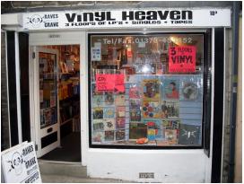 Vinyl Heaven, in Frome
